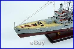 Swedish Navy HMS Gotland Gotland-class Wooden Battleship Model 39
