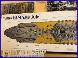Tamiya 1/350 No. 25 Japan Navy Battleship Yamato 78025 with Wooden Deck Sheet