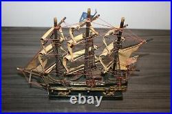 The Bonhomme Richard Sailing Ship Model-captain John Paul Jones-sank 1779