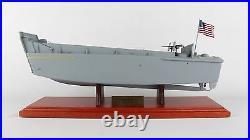 USN LCVP Landing Craft Vehicle Personnel Desk Top Boat Ship 1/24 WW2 ES Model