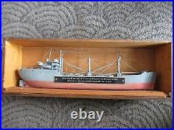 USN Walter Butler Shipbuilders USS Gwinnett 1944 Model Wooden Model