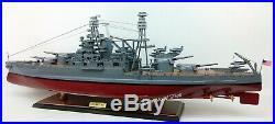 USS Arizona (BB-39) Battleship Model 36 Handcrafted Wooden Model Scale 1200