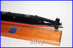 USS Bergall SSN-667 Submarine Model