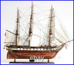 USS Constellation Wooden Model Warship Fully Assembled Museum Quality