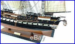 USS Constitution Tall Ship Full Assembled 35 Built Wooden Model Ship NEW
