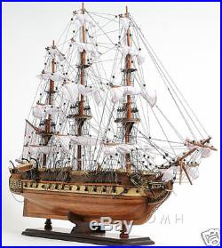 USS Constitution Wooden Tall Ship Model 29 Old Ironsides Fully Assembled New