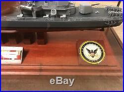 USS Edwards Model Ship
