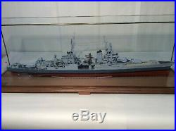 USS Indianapolis battleship built by Fine Art Models 1192 scale