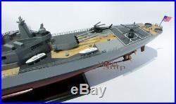 USS Iowa (BB-61) Handcrafted War Ship Display Model 39