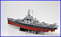 USS MASSACHUSETTS BB-59 1/350 ship Trumpeter model kit 05306