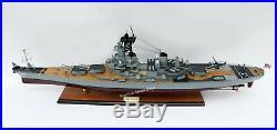 USS Missouri (BB63) 1990 Battleship Model 39 Handcrafted Wooden Model NEW