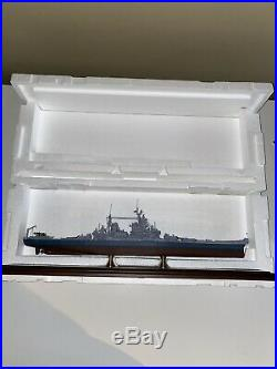 USS Missouri BB-63 Battleship Handcrafted War Ship Display Model