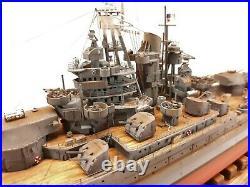 USS Nevada BB-36 / Pro-built 1-350 / FREE SHIPPING