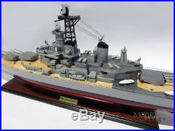 USS New Jersey (BB-62) Handcrafted War Ship Display Model 39