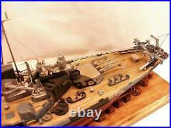USS North Carolina BB-55 / Pro-built 1-350 / FREE SHIPPING