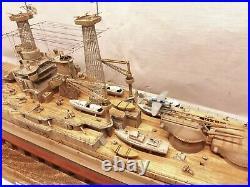 USS Oklahoma BB-37 / Pro-built 1/350 / FREE SHIPPING