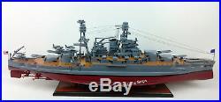 USS PENNSYLVANIA (BB-38) Battleship Scale 1200 Handcrafted Wooden Ship Model