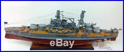 USS PENNSYLVANIA (BB-38) Battleship Wooden Ship Model Scale 1200