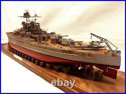 USS Pennsylvania BB-38 / 1-350 Pro Built / FREE SHIPPING