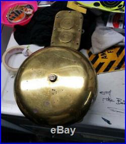 USS SAMPSON DDG-10 Alarm Bell with warning light