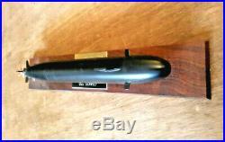 USS Seawolf Submarine Fisher Resin Display Model 1/400