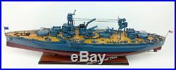 USS TEXAS (BB-35) Battleship Scale 1200 Handcrafted Wooden Ship Model
