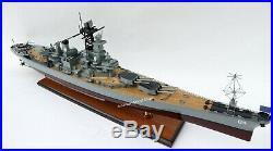 USS Wisconsin BB-64 Battleship Model 39 Handcrafted Wooden Model NEW