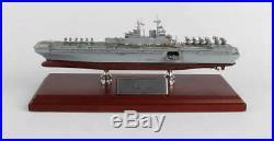 US Navy America Class LHA-8 Amphibious Assault Ship 12.66 Wood model Assembled