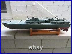 US Navy Elco PT-109 Patrol Boat Model R/C 124 Large JFK