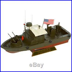 US Navy PBR MK-II Patrol Boat River Desk Display Vietnam War 1/24 Ship ES Model