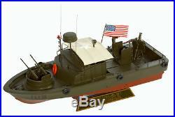 US Navy PBR MK-II Patrol River Boat Vietnam War Comdr John F. Kennedy Model Ship