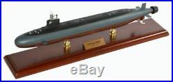 US Navy Seawolf Class Submarine Class SSN MBSSC1 Woodel Model Ship Assembled