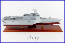US Navy USS Independence LCS-2 Littoral Combat Ship Desk Display 1/192 ES Model