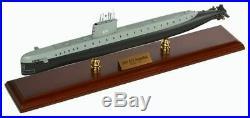 US Navy USS Nautilus SSN 571 Submarine 20 Wood Model Boat Assembled