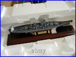 Very Rare Franklin Mint Battleship Missouri Uss Missouri Bb-63 Nib