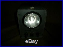 Vintage Ship Distress Master Strobe Signal Light by Power Instruments Inc. Works