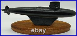 Vintage USS Shark SSN-591 Skip Jack Class Submarine Desktop Display