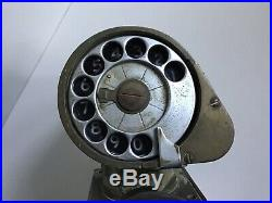 Vintage US Navy WW2 WWII Shipboard Dial Telephone Type F