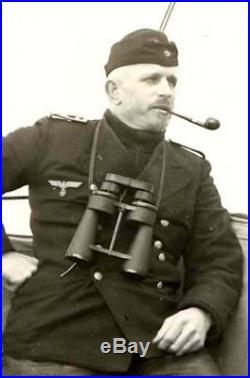 WW2 German Kriegsmarine 7x50 Leitz U-BOAT BINOCULARS NICE