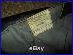 WW2 German Kriegsmarine Foul Weather / U-Boat Deck Pants VERY RARE