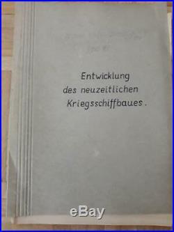 War Ships Kriegsmarinechiff Marine Ships Studie Study Full Plans 66 Pg