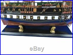 Wooden USS Constitution Tall Model Ship 32