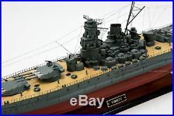 YAMATO Class Battleship 39 5 Handmade Wooden Ship Model